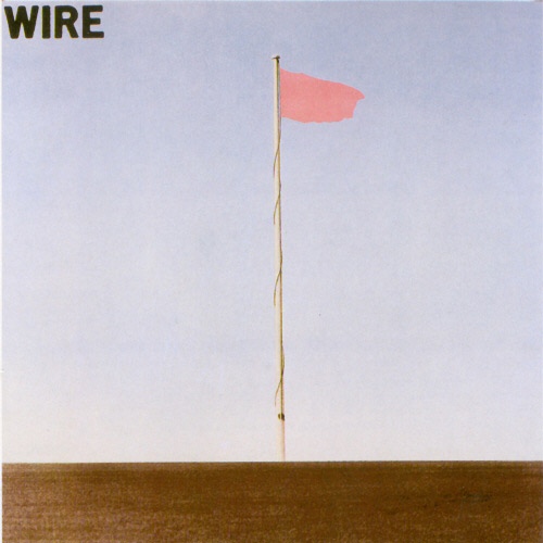 Wire-pink-flag