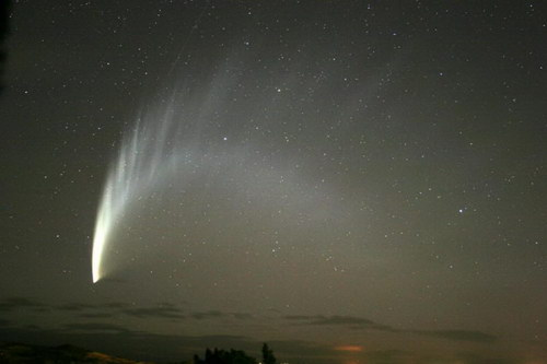 Comet McNaught photographer unknown