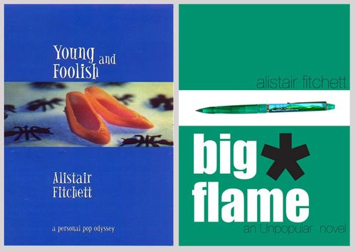 Young big foolish flame
