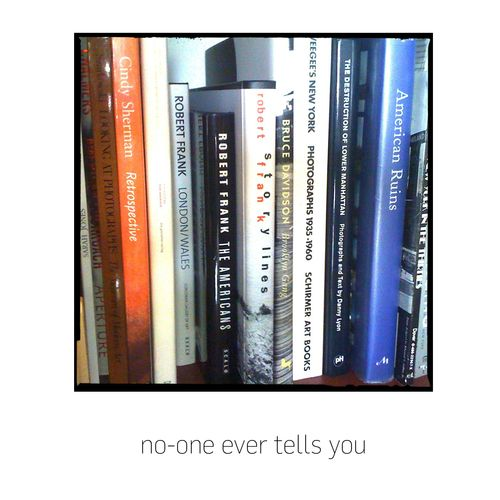 No-one ever tells you