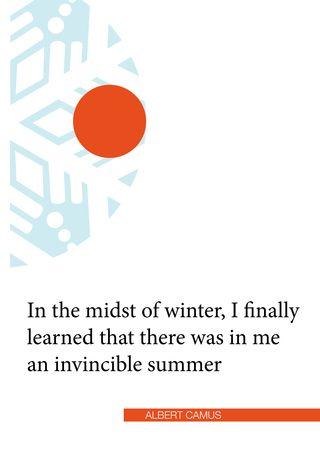 Camus invincible summer