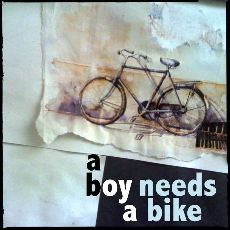 A boy needs a bike